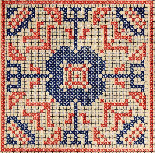 Вышивки крестиком в квадрате